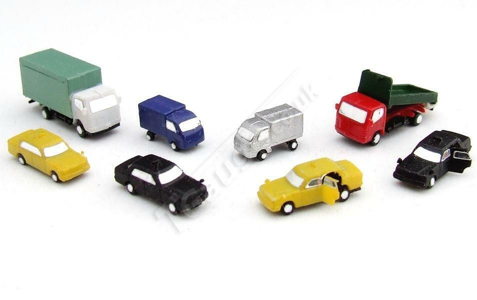 T Gauge 8 Pc Vehicle Set B (Painted) CP-006