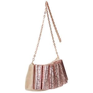 ted baker bowvet bow velvet evening bag dusty pink