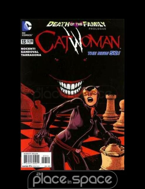 CATWOMAN, VOL. 4 #13 - 2ND PRINTING - DEATH OF THE FAMILY