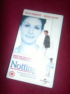 NOTTING HILL HUGH GRANT RARE DELETED VHS JULIA ROBERTS RHYS IFANS BRIT COMEDY - Leicestershire, United Kingdom - NOTTING HILL HUGH GRANT RARE DELETED VHS JULIA ROBERTS RHYS IFANS BRIT COMEDY - Leicestershire, United Kingdom