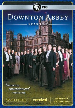 Downton Abbey Season 3 DVD, 2013, 3-Disc Set  - $0.99