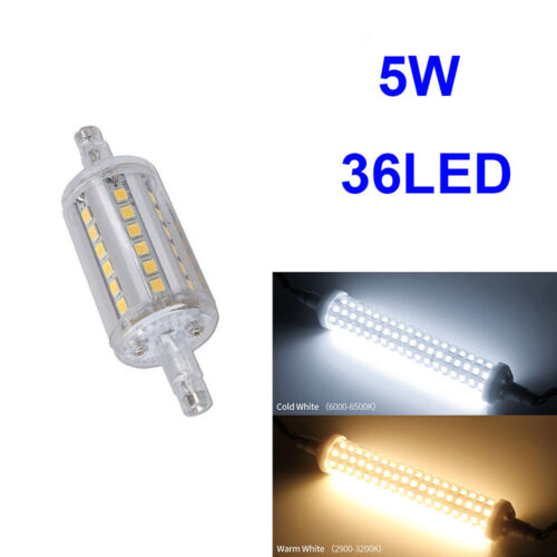 LED Dimmable R7S Ampoule 78mm 118mm 135mm 189mm Aluminium Lampe SMD 2835 Bulb