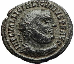 LICINIUS-I-Constantine-I-enemy-321AD-Authentic-Ancient-Roman-Coin-JUPITER-i76676