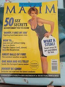 Vintage-Maxim-Magazine-May-1996-Number-13-Helena-Cristensen-postage-free