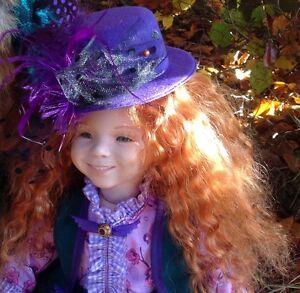 Poupée en porcelaine de Dianna Effner, poupée d'artiste, poupée déco Ilona