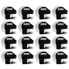 16rolls 14x35 Large Address Tape Dk 1208 For Brother Ql Labels Printer