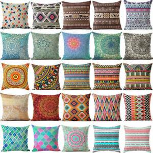 Bohemian-Geometric-Decoration-Cotton-Linen-Pillow-Case-Cushion-Cover-Home-Decor