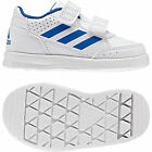 Adidas Baby Shoes Toddler Boys Alta Sports CF School Walking Trainers Size