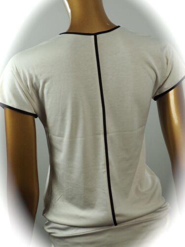 Mit 42 Seidenbesatz N5 N1 Marccain N4 34 Gr 40 Collections Kurzarm Neu Shirt wBtgS