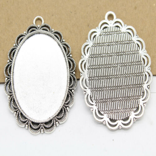 Free shipping 5//10pcs Retro style  base alloy charms Pendants 53X40mm