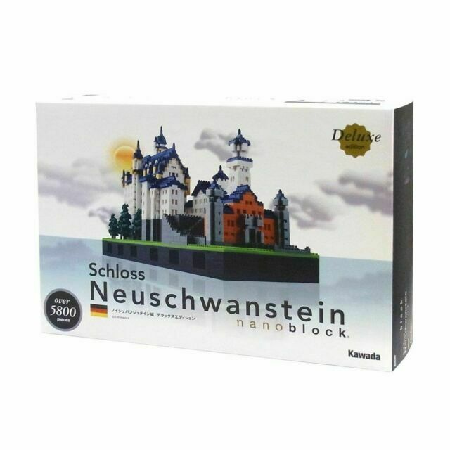 Neuschwanstein Castle Deluxe Edition Set by Kawada NAN-NB009 Nanoblock