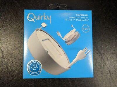 "Quirky Powercurl POP Power Cord Wrap Organizer for 13/"" MacBook Pro Laptop Black"