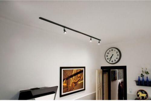 schwarz inkl 3xPURI und LED Leuchtmittel 2x1m 1-Phasen Hochvolt-Set