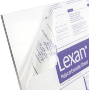 """Thermoforming Lexan Polygal Polycarbonate Sheet Clear 3//16/"""" x 24/"""" x 48/"""""""