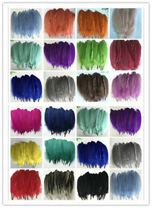 Wholesale-20-100pcs-Natural-goose-feather-15-20cm-6-8inches-23-Colors