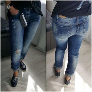 Girls Jeans New Size Boyfriend's Ladies Xl L And Fashion Women's qpPPtv