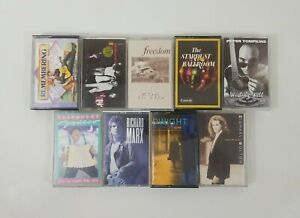 Mixed Cassette Bundle of 9 Titles SEE DESCRIPTION FOR TITLES