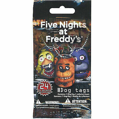 5x FNAF Dog Tags Five Nights at Freddy's Necklace Collectible for sale  online   eBay