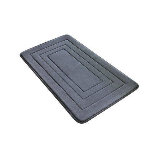 Bathroom Water Absorption Mat Anti-slip Rug Indoor Door Entry Carpet For Home UK