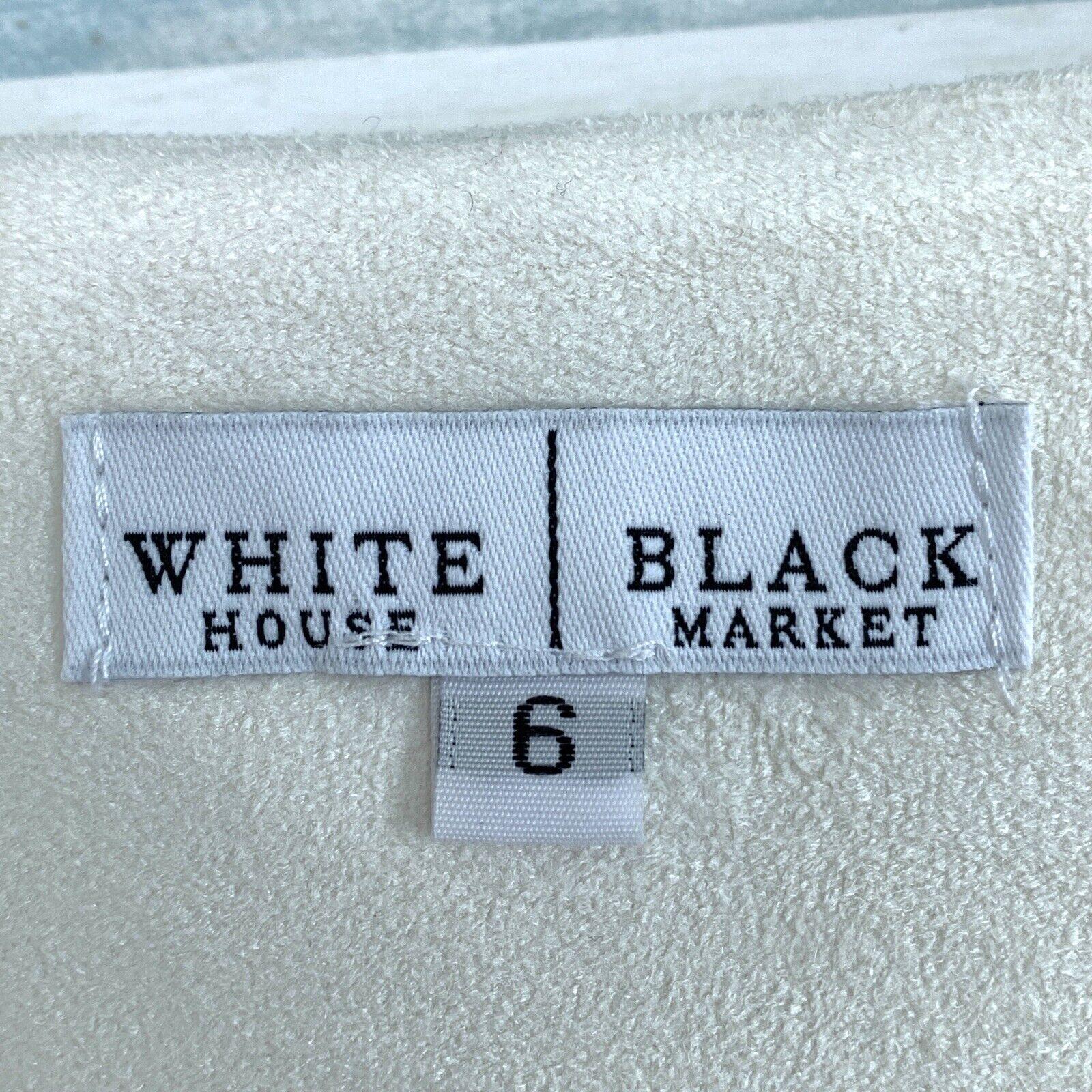 White House Black Market Velour Wide Leg Crop Pan… - image 8