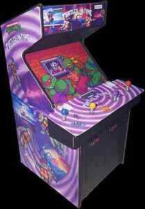 Mini Teenage Mutant Ninja Turtles In Time (TMNT) Arcade Cabinet ...
