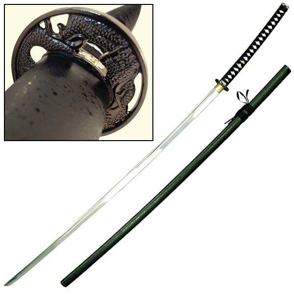"Odachi Giant Samurai Sword - Black Katana 68"" overall #264"