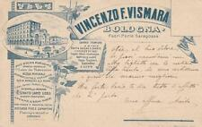 C3128) BOLOGNA, VINCENZO VISMARA FUORI PORTA SARAGOZZA, ALIMENTARI DROGHERIA.