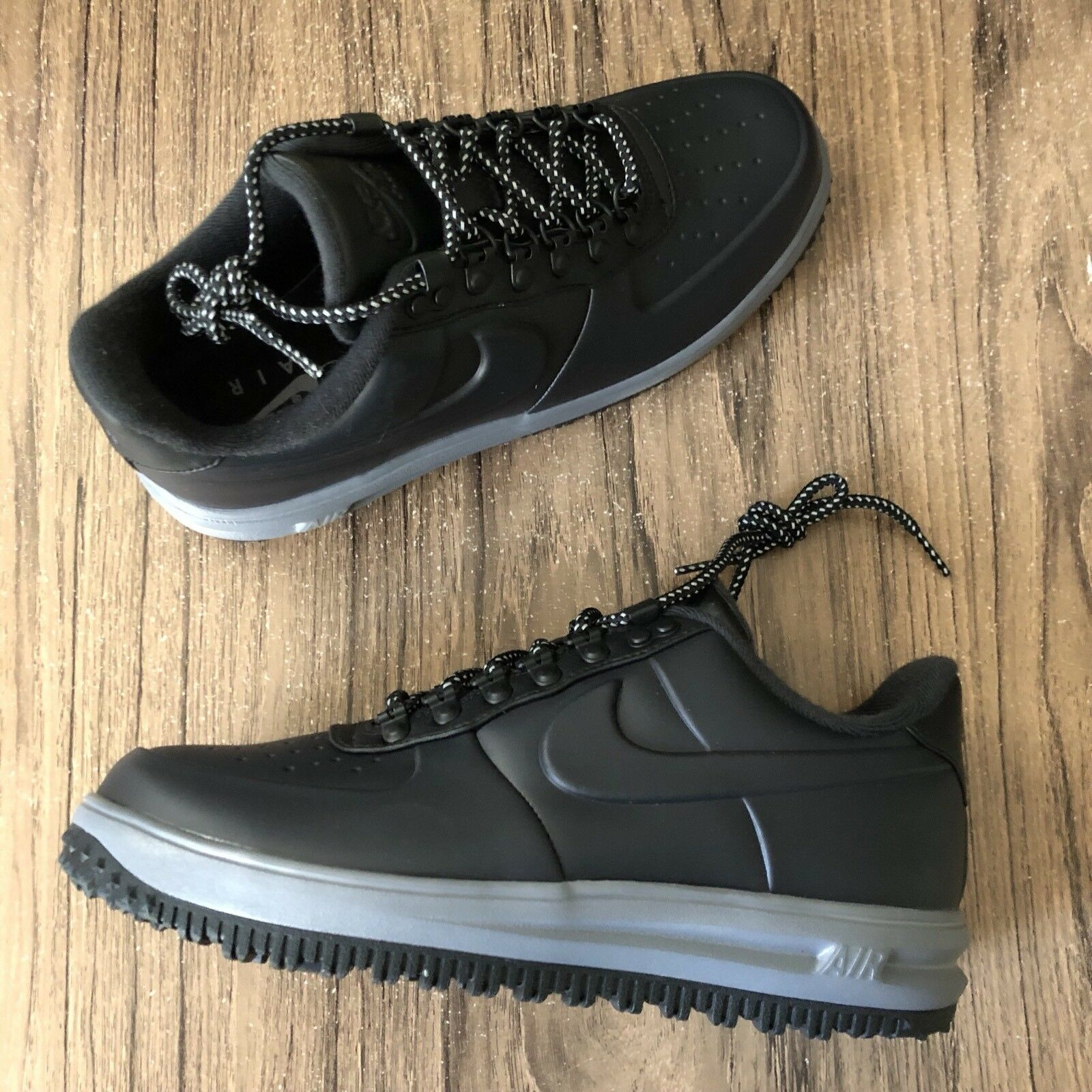 A1211 Nike LF1 Lunar Force 1 AA1125-004 Grey Black Duckboots Mens Size 10 NEW