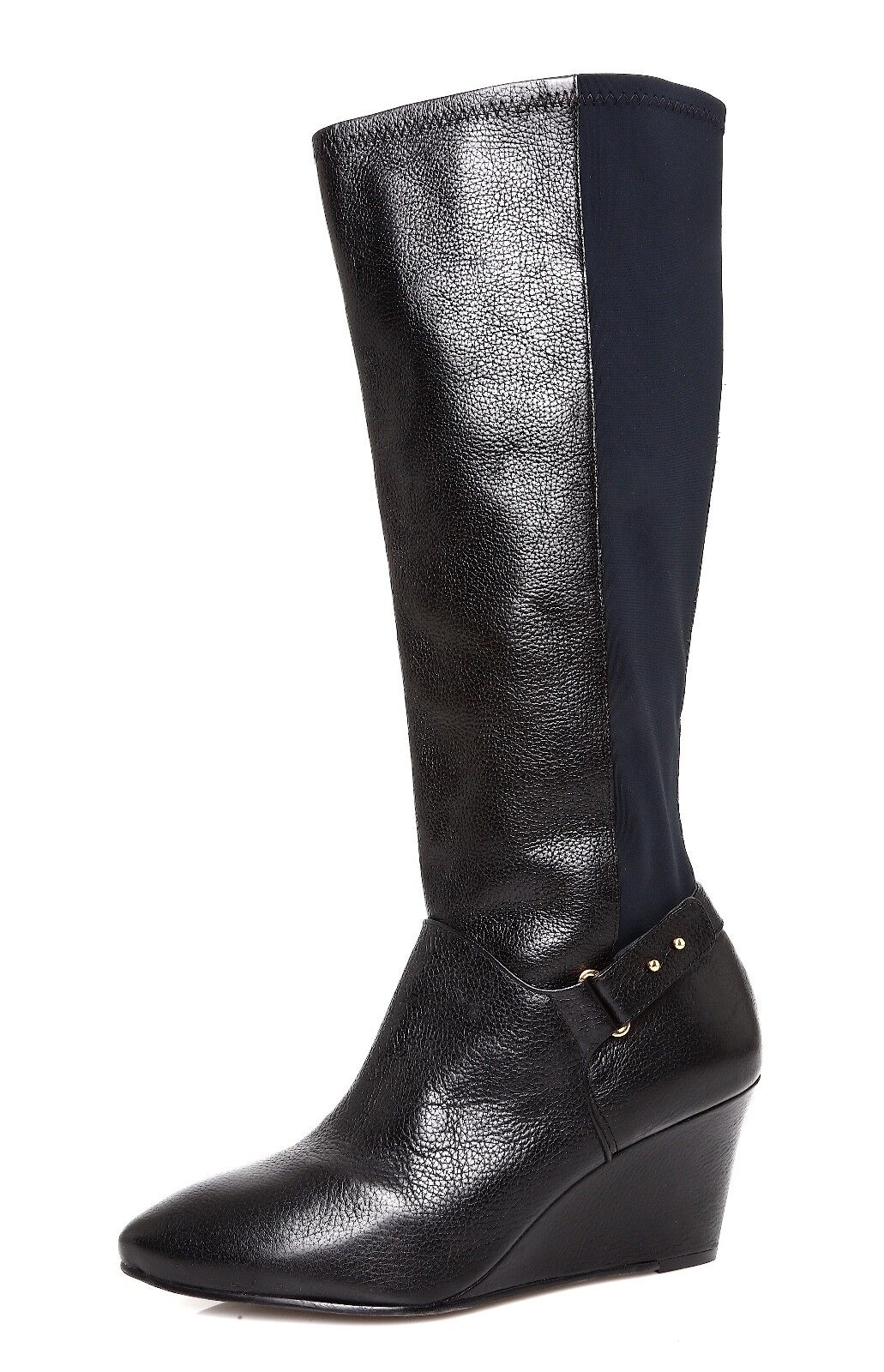 Steve Madden Jaden Women's Black Leather Boot Sz 9.5 M 4482 *