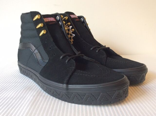 17b8c4ef5d Vans x Marvel Avengers SK8-Hi Black Panther VN0A38GEUBH New W Box DS Mens