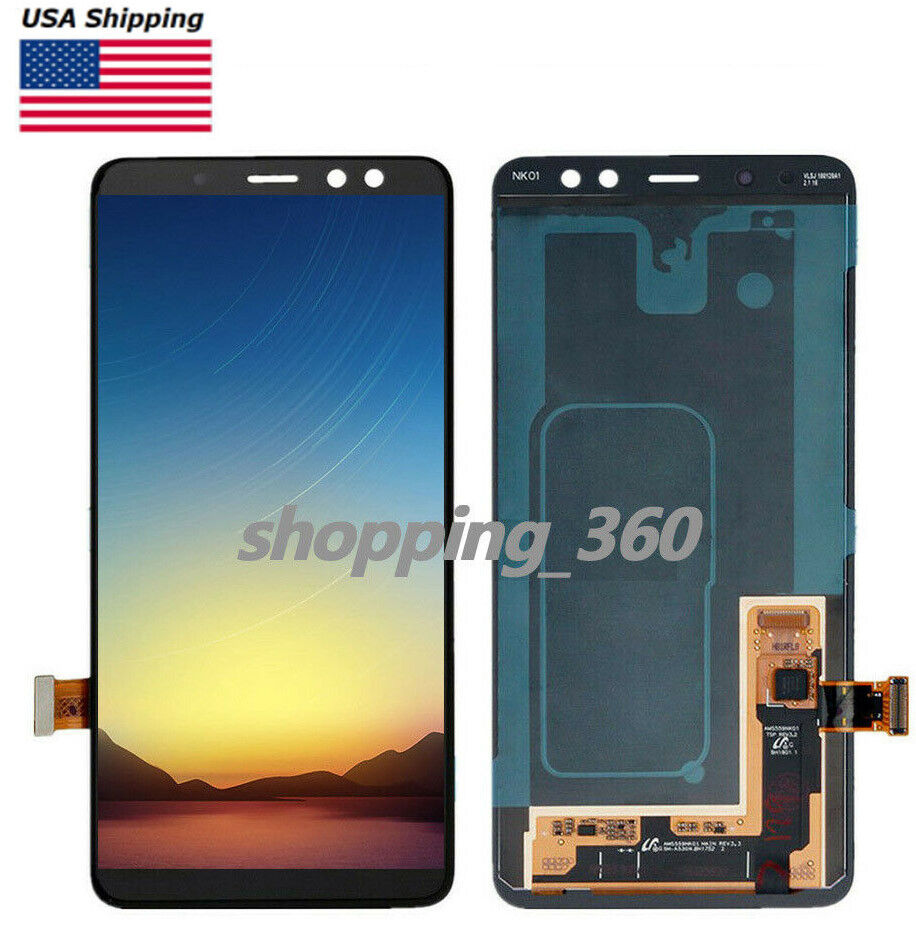 A730F 2018 A730F //DS Replacement XIAOMIN 10 PCS LCD Digitizer Back Adhesive Stickers for Galaxy A8+