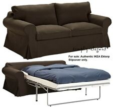 Ikea Ektorp Idemo Light Brown Sofabed Cover 2 Seat Sofa Bed
