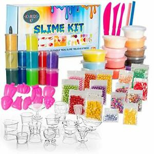 Ultimate-Slime-Kit-with-Complete-Supplies-for-DIY-Make-Your-Own-Slime-Premium