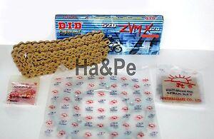 * Ducati 907 900 ie DID Kettensatz chain kit 520 ZVM-X G&G gold 1990 - 1993