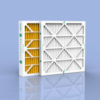 24x24x2 Glasfloss High Efficiency Merv 8 Pleated Furnace Filters - 6 Pack