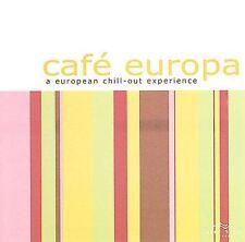 FREE US SHIP. on ANY 2 CDs! ~LikeNew CD Various Artists: Cafe Europa