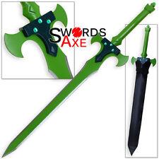 Holy Knight Warrior Sword Excalibur Art of War Online Cosplay Anime Replica