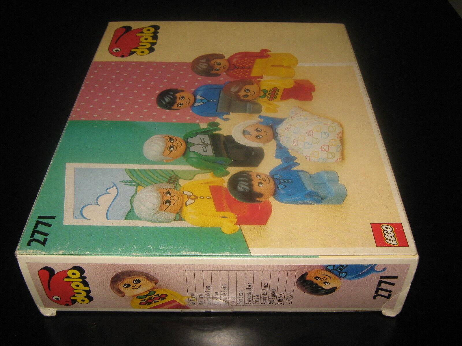 VINTAGE VINTAGE VINTAGE RARE PRESCHOOL LEGO DUPLO SET 2771 LEGO FAMILY1991 MIB 39a0ee
