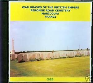 WAR-GRAVES-OF-PERONNE-ROAD-MARICOURT-CD-ROM
