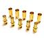 Conector-Gold-2mm-3-5mm-4mm-5mm-5-5mm-6-0mm-8-0mm-conector-clavija-2-3-4-5-6-8-10-20 miniatura 1