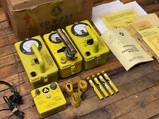 Civil Defense Cdv 777 Radiation Detection Set Geiger Counter With Original Box