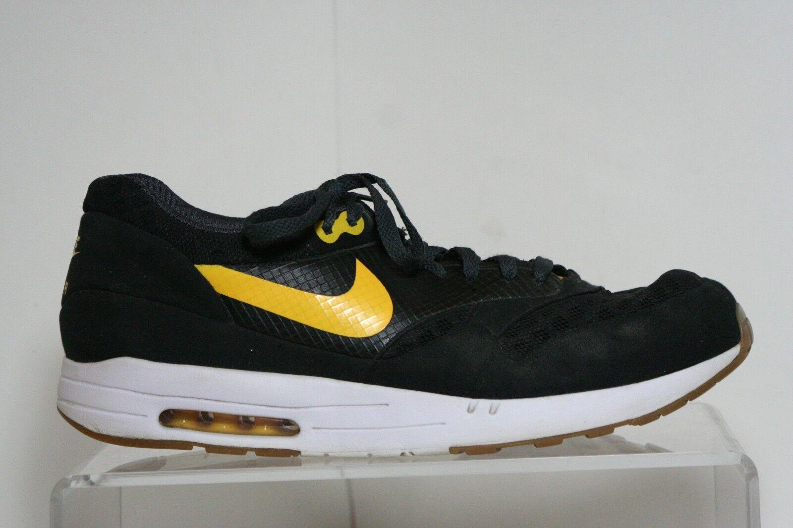 Nike air maxim 1 torcia   nd 2009 uomini 13 multi - nera e gialla in athletic -