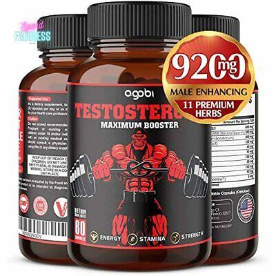 agobi Men Natural Testosterone Booster 9200mg Estrogen
