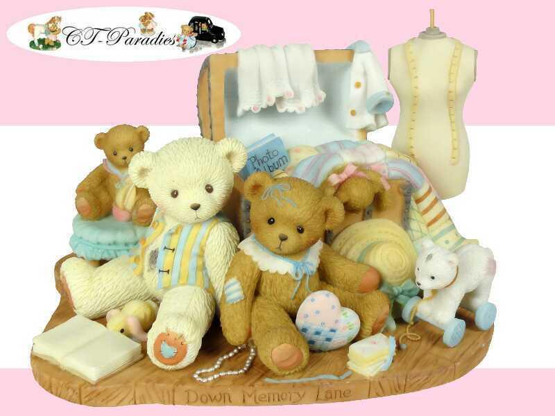 Cherished Teddies-Rachel-sul viale dei ricordi 2010 Nuovo Scatola Originale - 4016839
