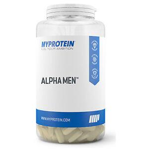 Fiable Grande Baignoire - 240 Comprimés Myprotein Alpha Hommes Super Multi Vitamine Sport Santé-afficher Le Titre D'origine