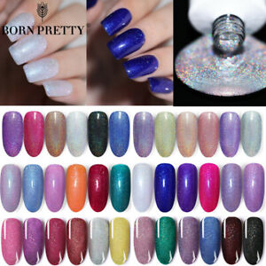 BORN-PRETTY-6ml-Holo-Gel-Polish-Shimmer-Glitter-Soak-Off-Nail-Art-Gel-Varnish