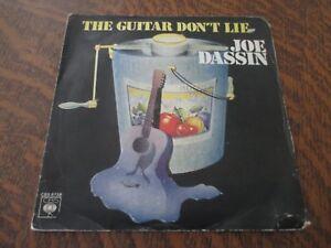 45-tours-JOE-DASSIN-the-guitar-don-039-t-lie