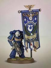 Warhammer 40,000 Space Marines Primaris Ancient with Adeptus Astartes Banner