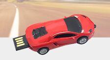 Red 8GB Sports Car 2.0 USB Flash Pen Drive Memory Stick Rotary Thumb Key usb