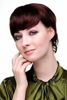 Denise, Short Human Hair Wig Women's Wig Chestnut Brown Brown Mix 8951hh-2t33